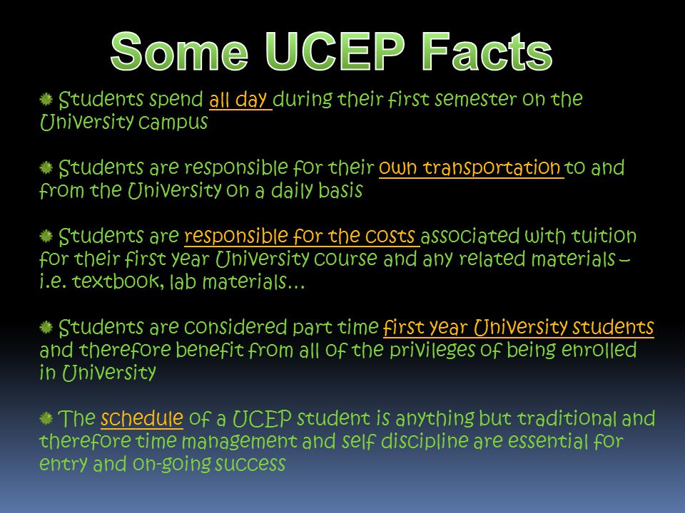 In order to apply to University, you need to have graduated from high school with 30 credits.