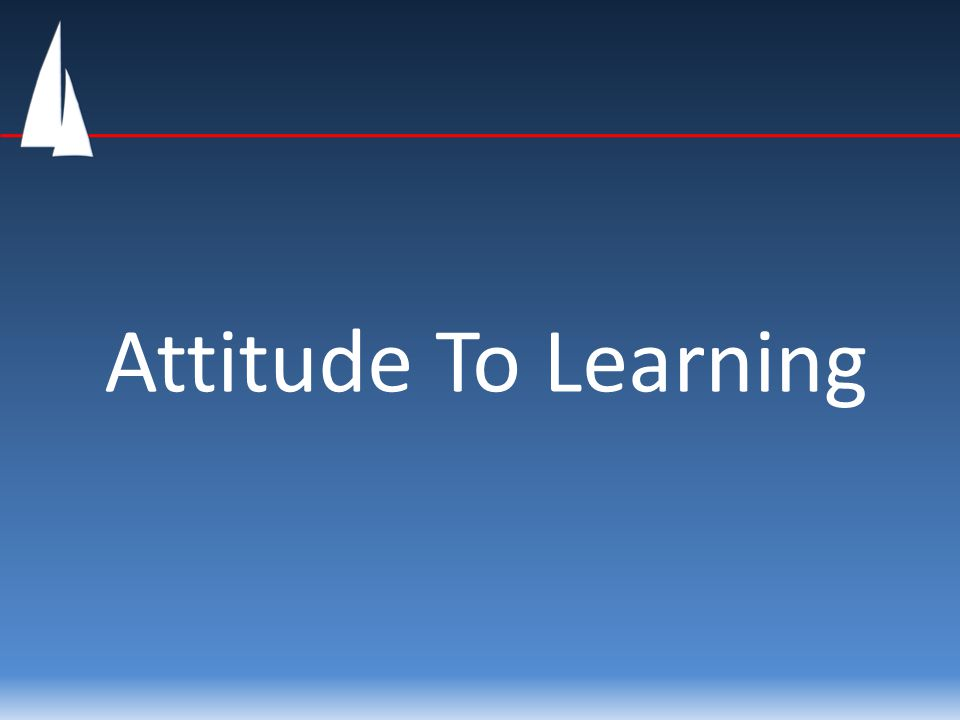 Positive attitude to work While there is no guarantee a positive attitude about school work will automatically help you learn and develop, it does remove the self-imposed limits and opens your mind to the learning process.