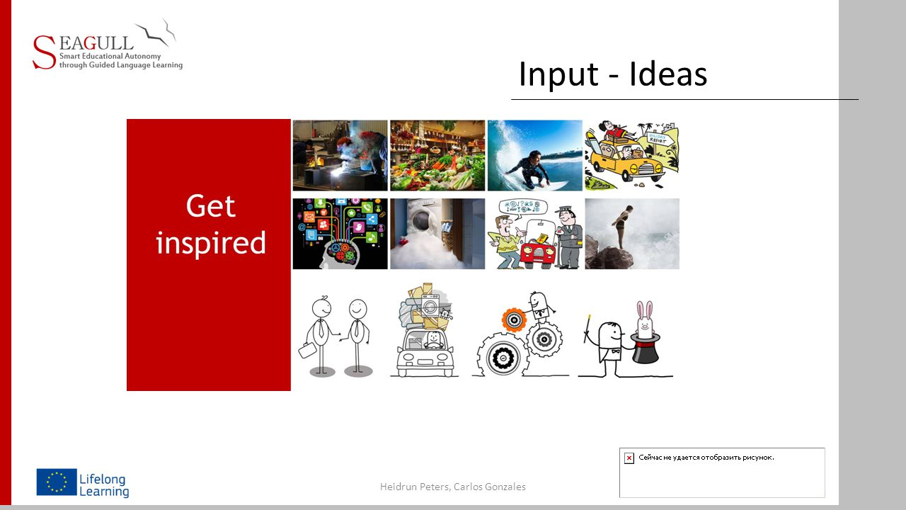 Challenges of Autonomous Learning Heidrun Peters, Carlos Gonzales Communication Topics, Input Material Language aspects Autonomous Learning Techniques Cooperation /Partnership aspects