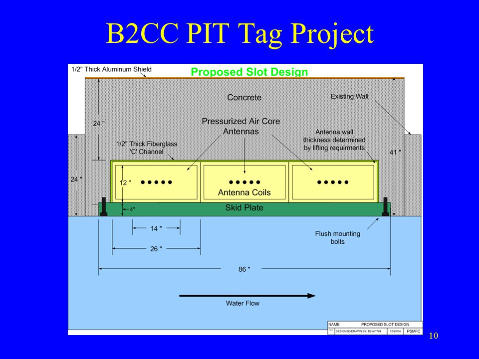 10 B2CC PIT Tag Project
