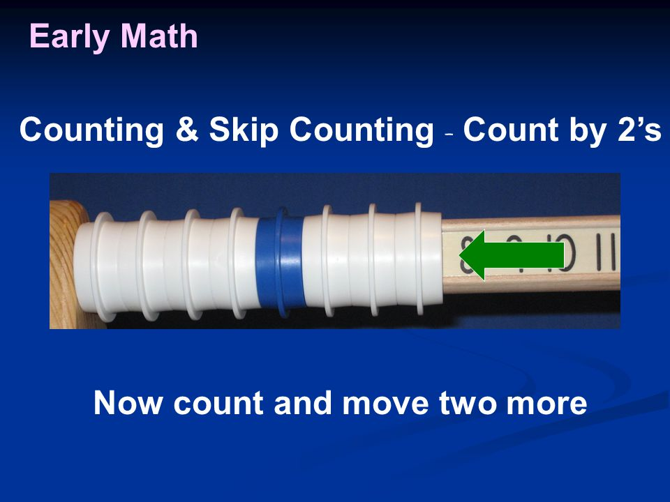 Early Math Now count and move two more Counting & Skip Counting - Count by 2's