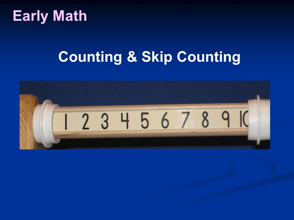 Early Math Counting & Skip Counting
