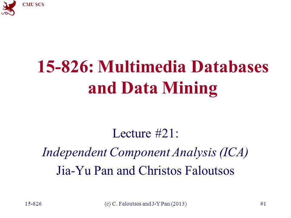 CMU SCS 15-826(c) C.