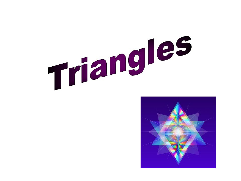 A triangle is one of the basic shapes of geometry: a polygon with three corners or vertices and three sides or edges which are line segments.