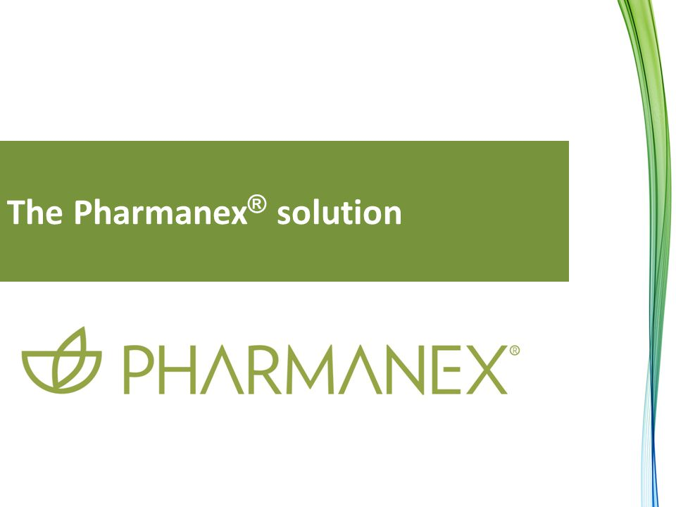 The Pharmanex ® solution