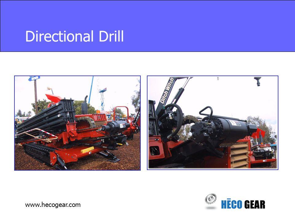www.hecogear.com Directional Drill
