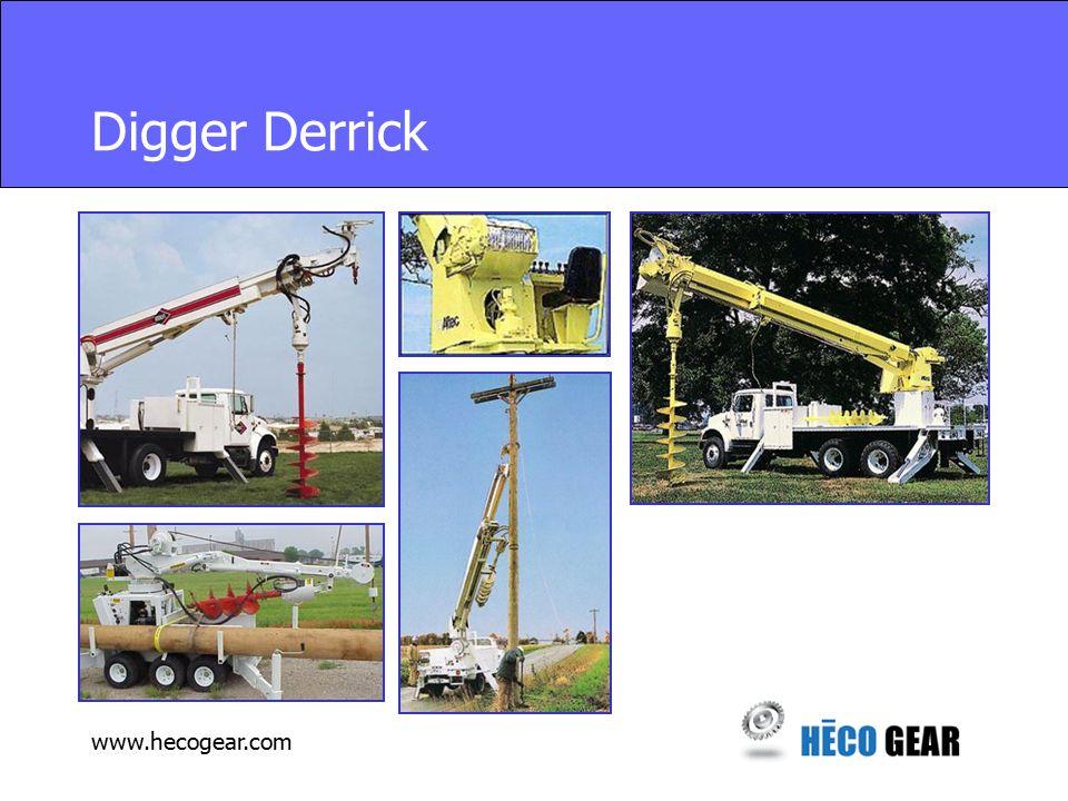 www.hecogear.com Digger Derrick