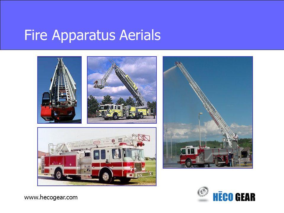 www.hecogear.com Fire Apparatus Aerials