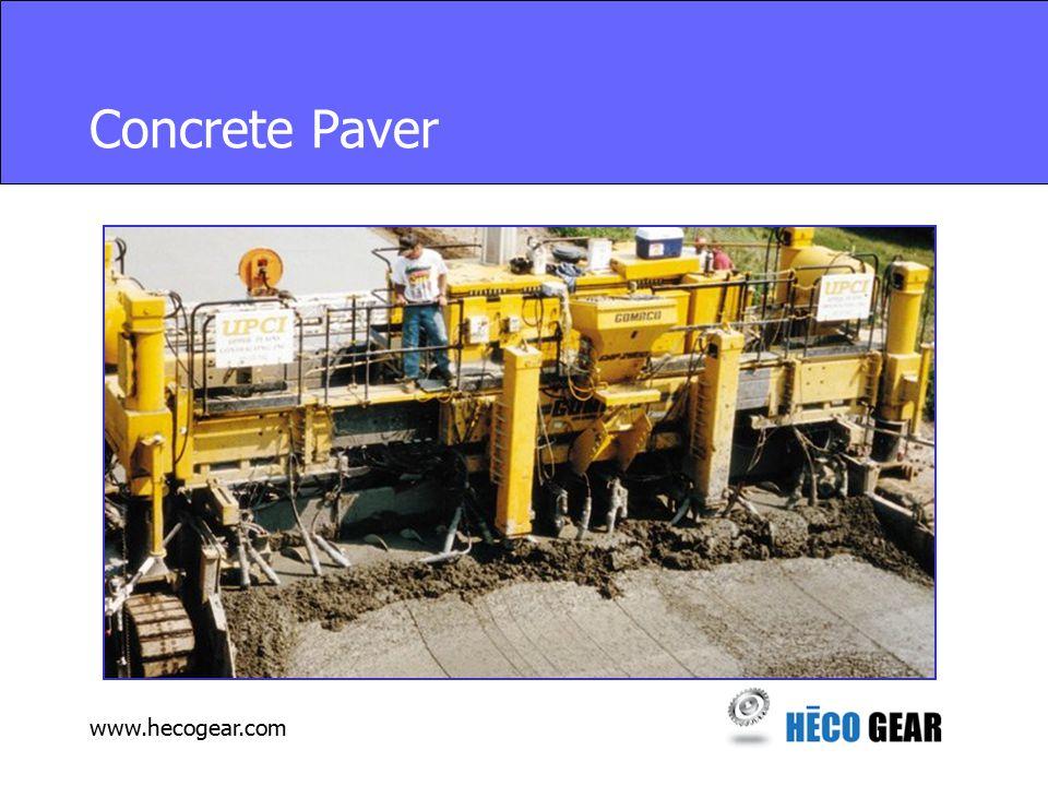 www.hecogear.com Concrete Paver