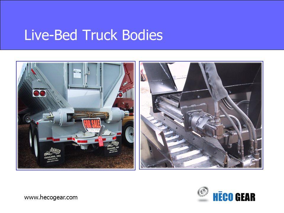 www.hecogear.com Live-Bed Truck Bodies