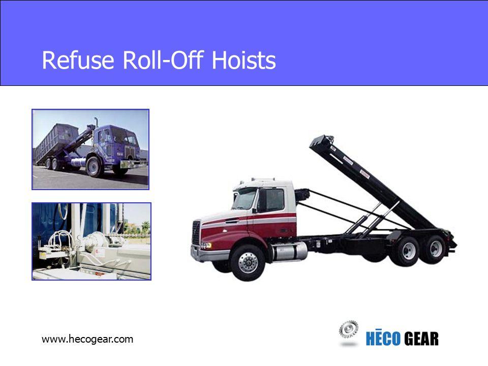 www.hecogear.com Refuse Roll-Off Hoists