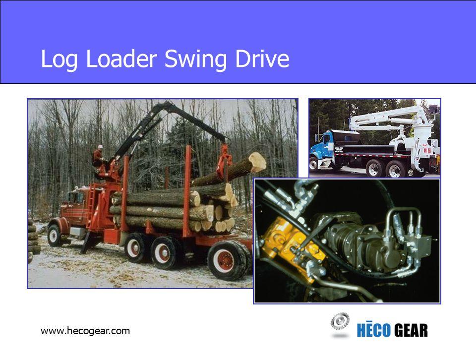 www.hecogear.com Log Loader Swing Drive