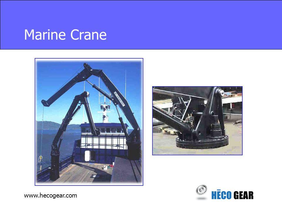 www.hecogear.com Marine Crane