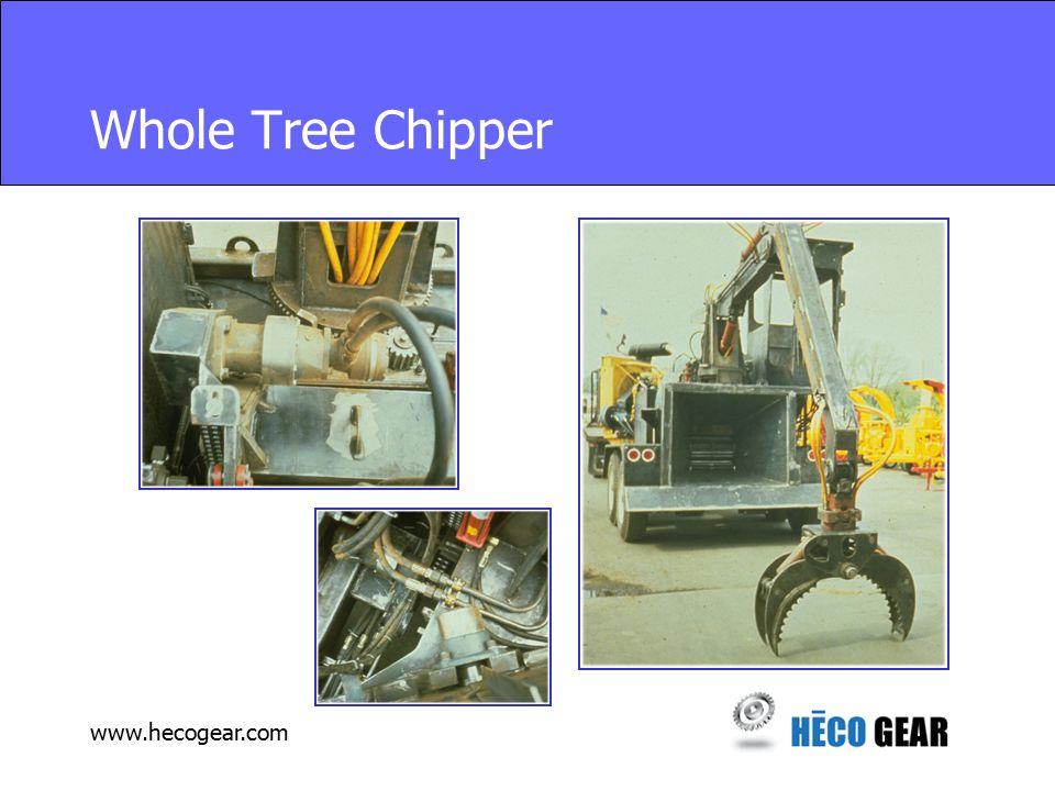 www.hecogear.com Whole Tree Chipper