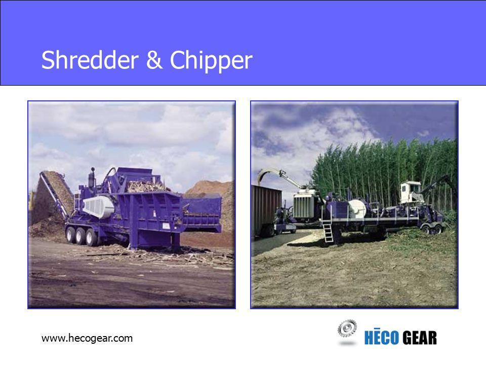 www.hecogear.com Shredder & Chipper
