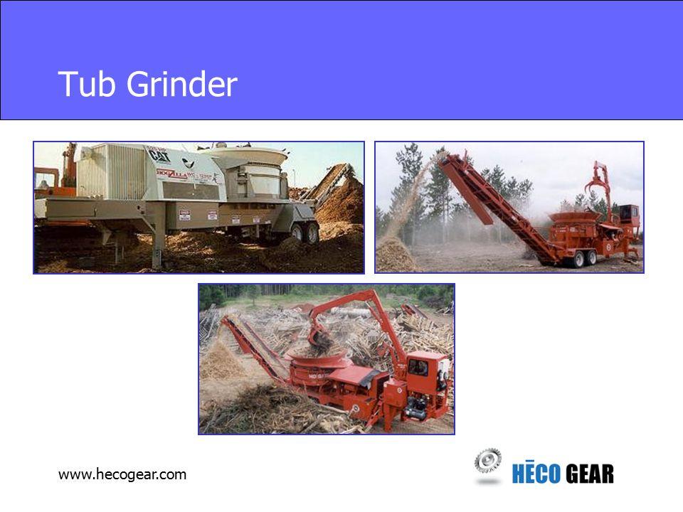 www.hecogear.com Tub Grinder