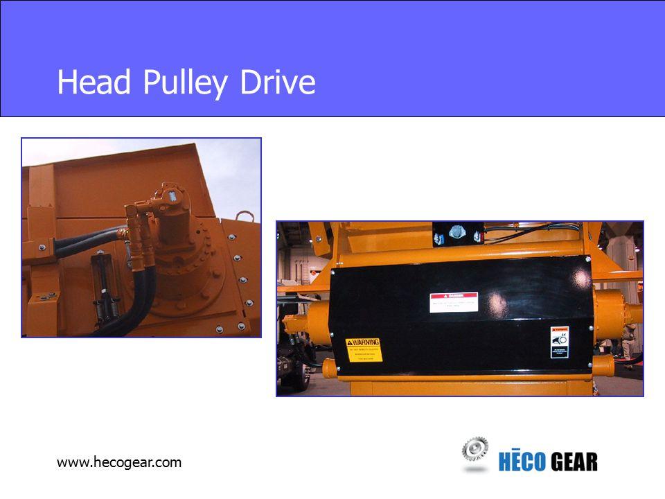 www.hecogear.com Head Pulley Drive