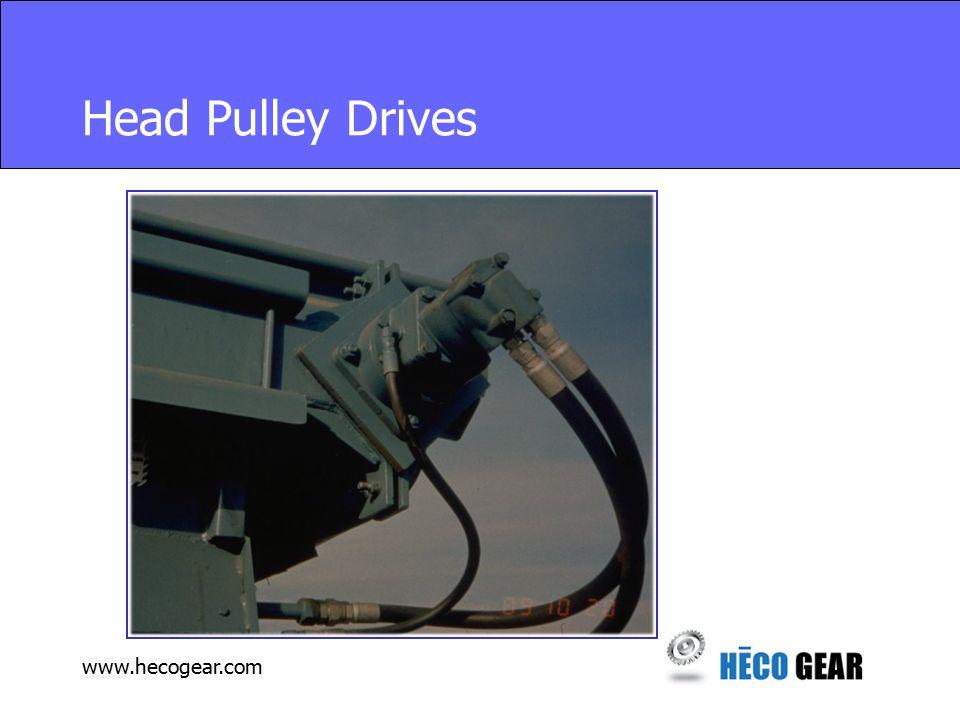 www.hecogear.com Head Pulley Drives