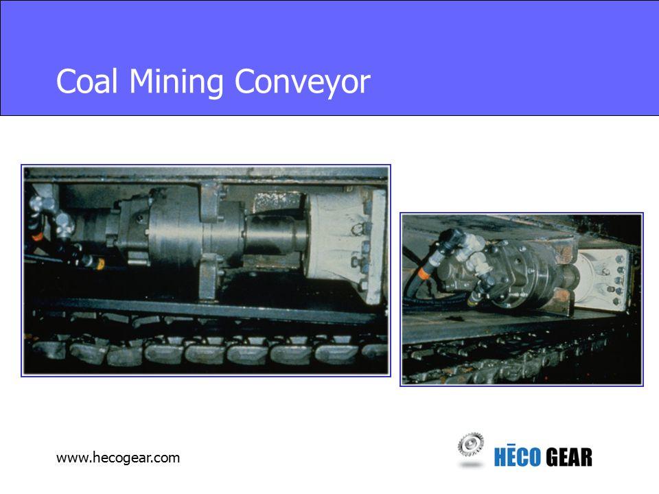 www.hecogear.com Coal Mining Conveyor