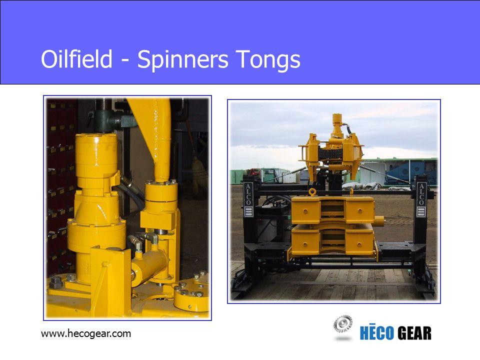 www.hecogear.com Oilfield - Spinners Tongs