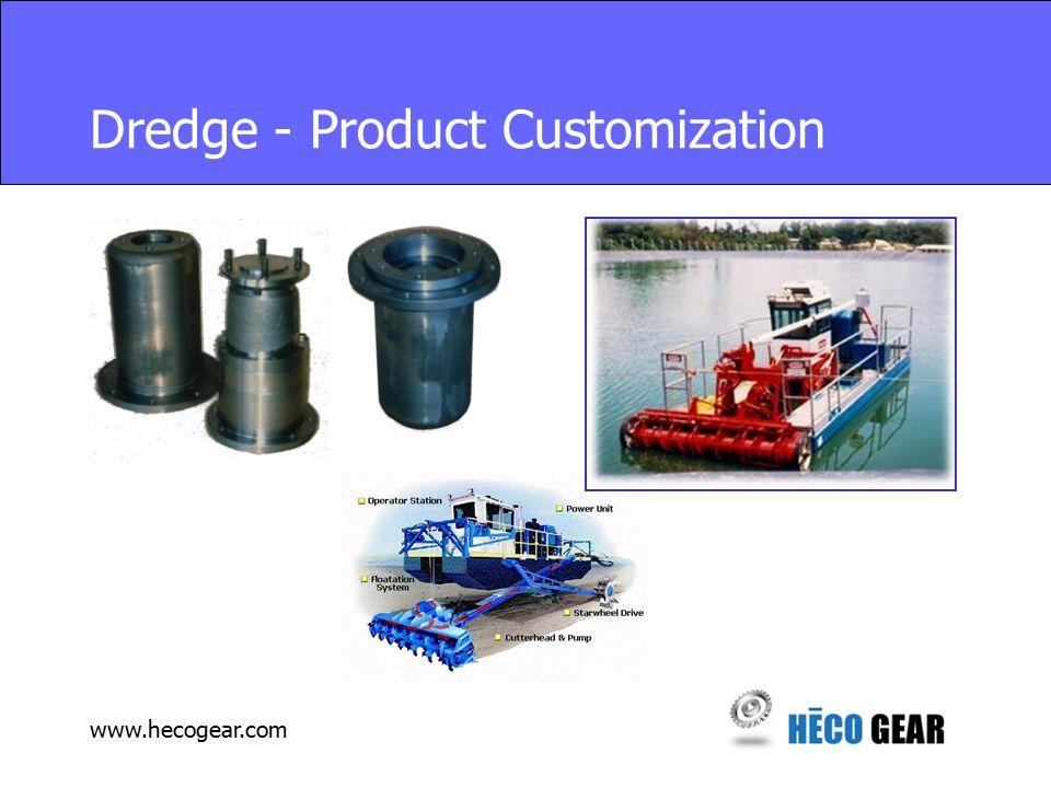 www.hecogear.com Dredge - Product Customization