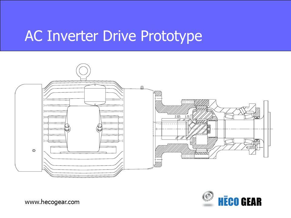 www.hecogear.com AC Inverter Drive Prototype