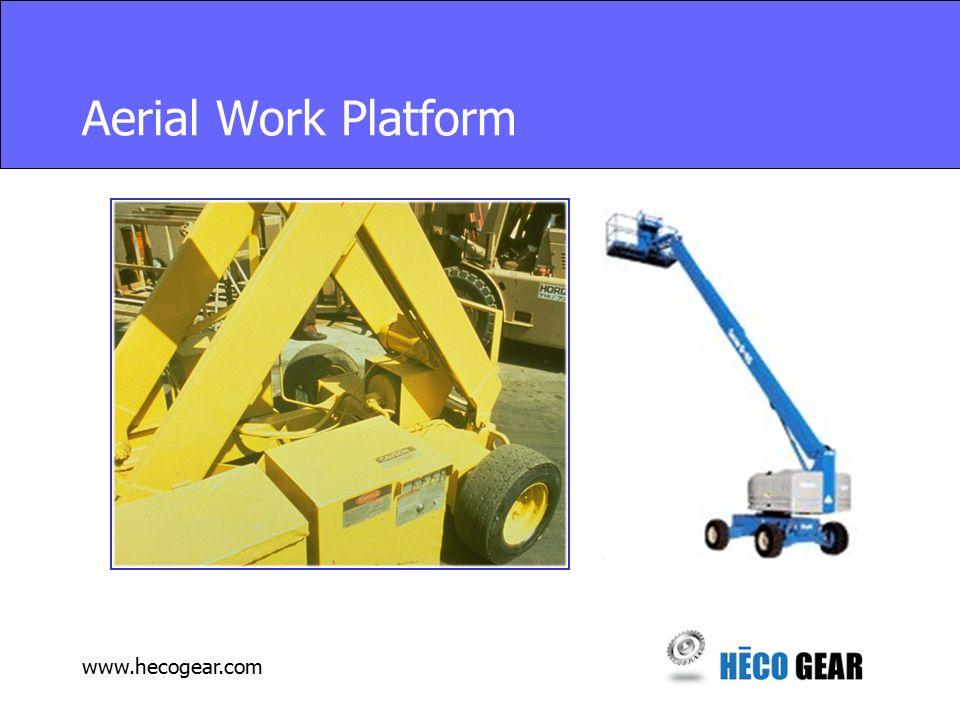 www.hecogear.com Aerial Work Platform