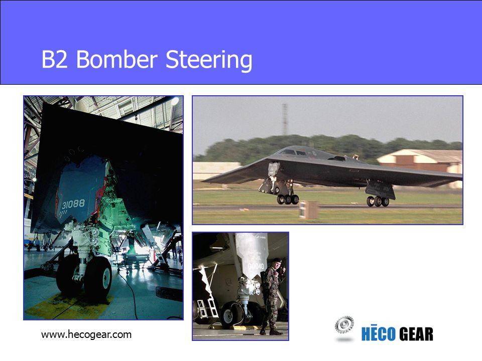 www.hecogear.com B2 Bomber Steering