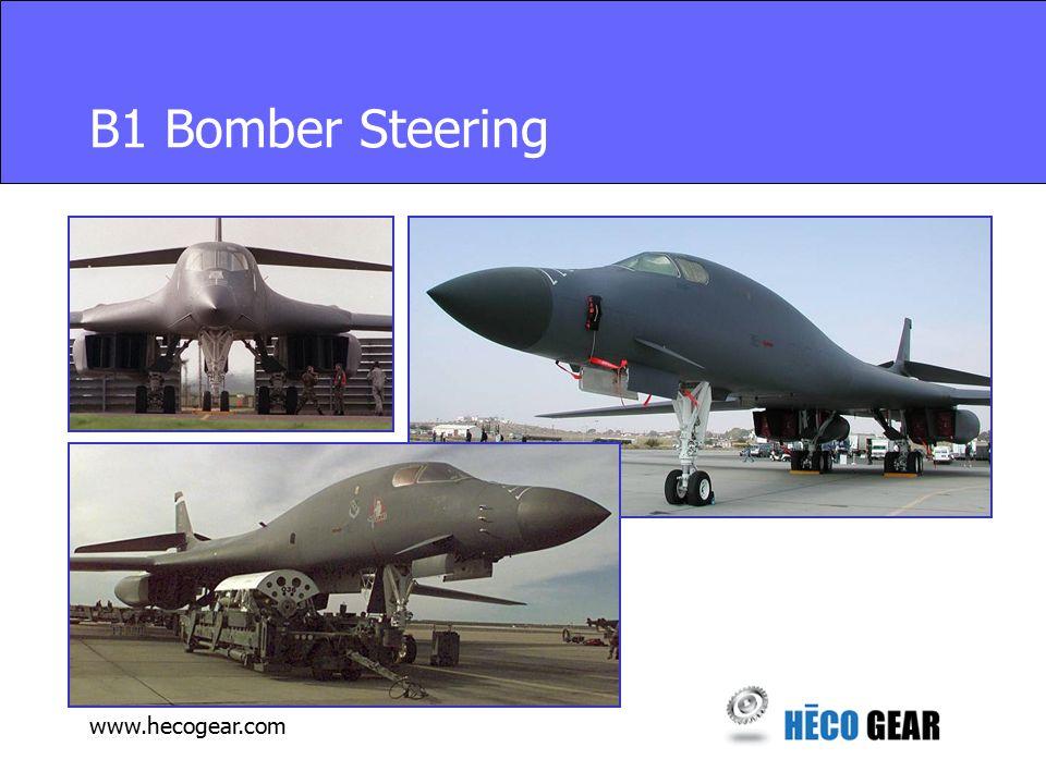 www.hecogear.com B1 Bomber Steering