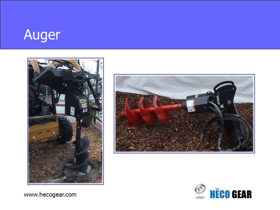 www.hecogear.com Auger