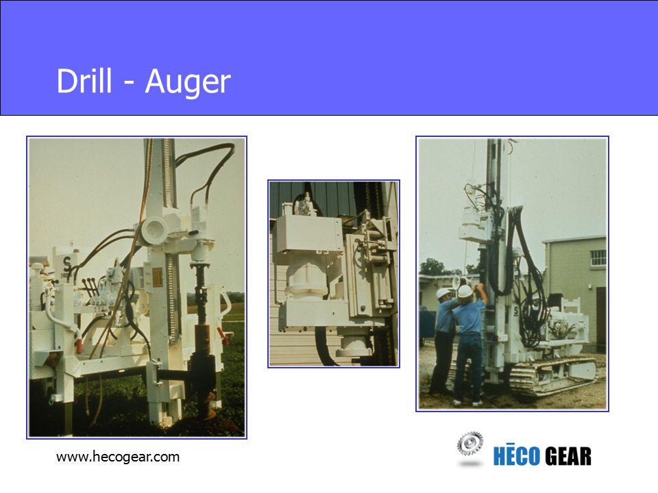 www.hecogear.com Drill - Auger