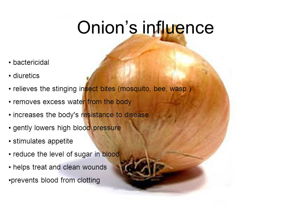 Vitamins Onion are source of vitamins E, B1, B2, B6, C 100g onion: Photassium140mg Calcium31mg Phosphorus30mg Sodium10mg Magnesium8mg Iron0.3mg Zinc0.1 Energy35kcal