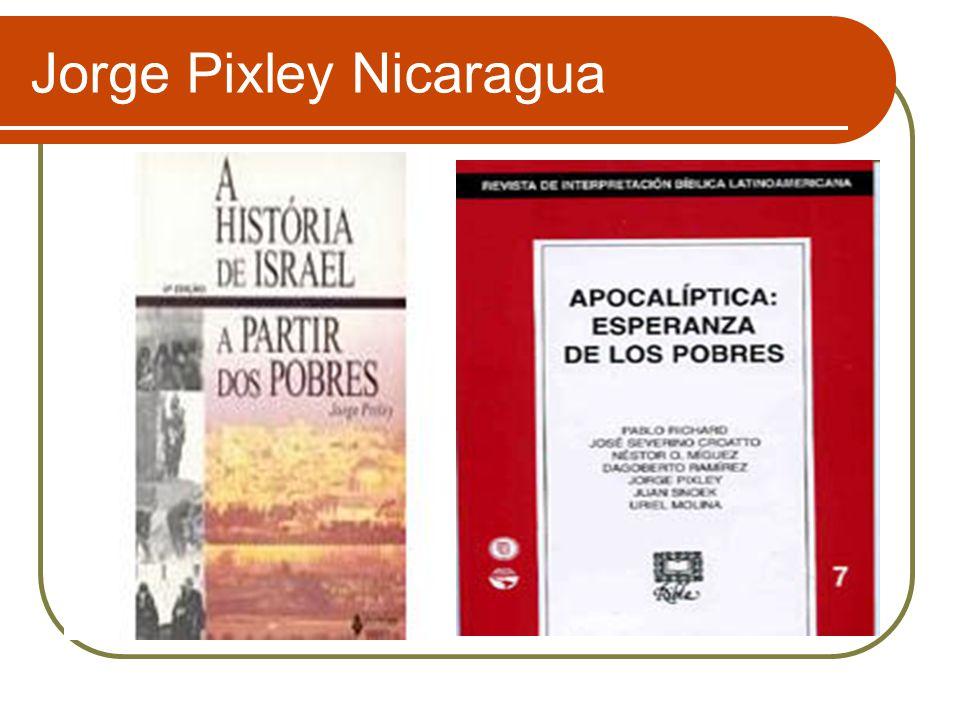 Jorge Pixley Nicaragua