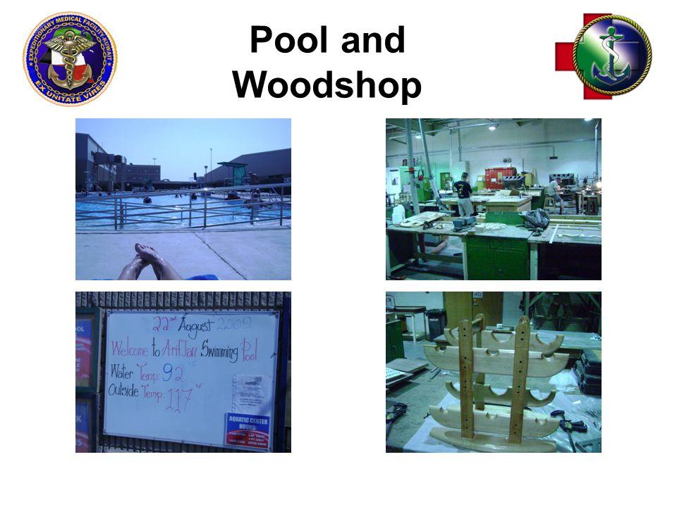 Pool and Woodshop