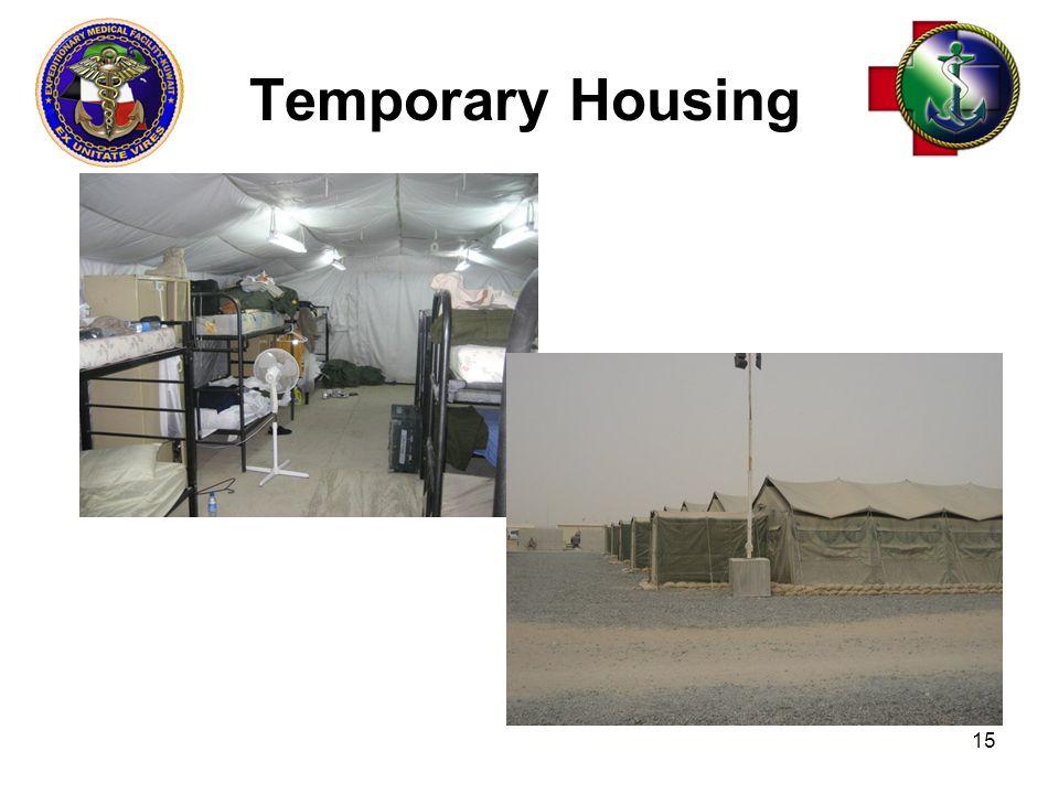 Temporary Housing 15
