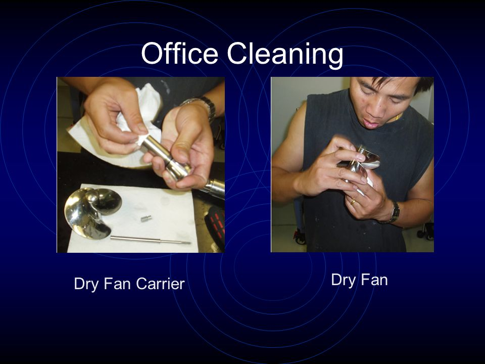Office Cleaning Dry Fan Carrier Dry Fan