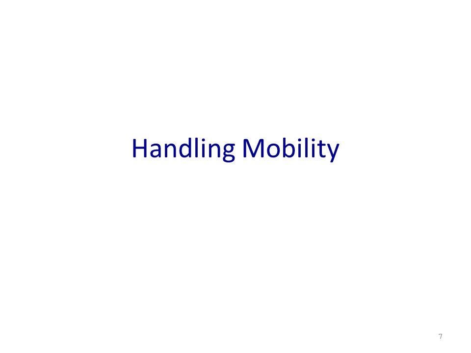 Handling Mobility 7
