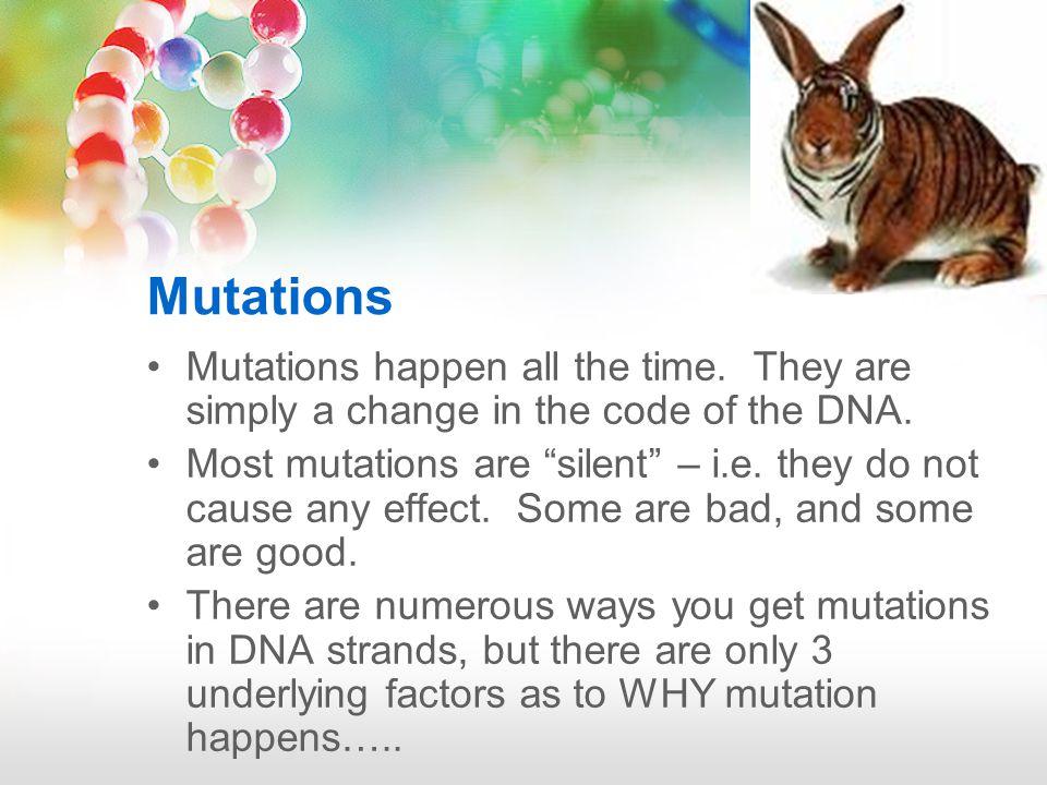 MUTATION GENETICSCHANCEENVIRONMENT ONLY SOURCE OF NEW VARIATION
