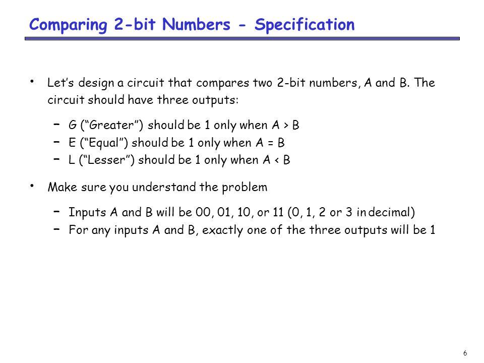 17 BCD-to-Seven-Segment Decoder - Formulation