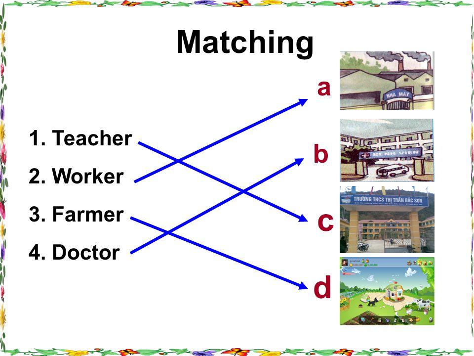 Vocabulary - shift (n) :Ca lµm viÖc - a mechanic : Thî c¬ khÝ Ngày nghỉ - homeless (a) : V« gia c, kh«ng nhµ cöa - (to) play golf : Ch¬i g«n - (to) work part- time: Làm việc bán thời gian - day off : Thursday,November 29 th 2012 Unit 7(cont) Period 43 Lesson 4: B1
