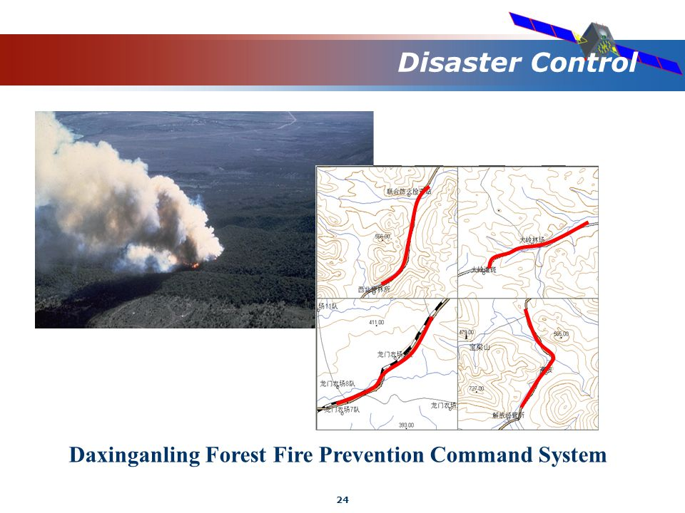 24 Disaster Control Daxinganling Forest Fire Prevention Command System