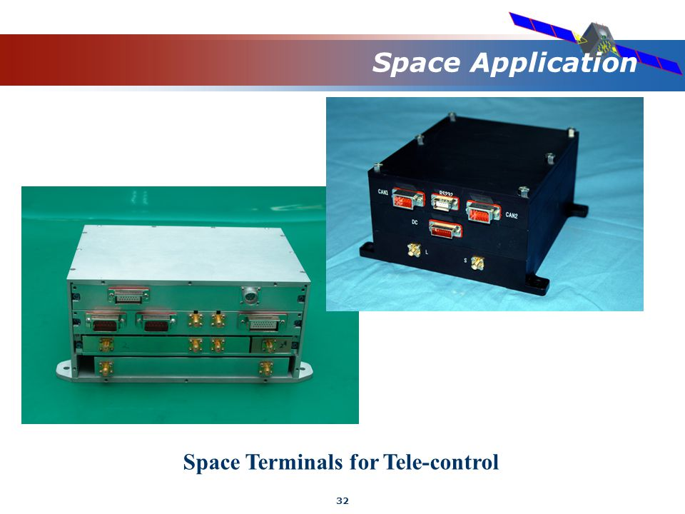 32 Space Application Space Terminals for Tele-control