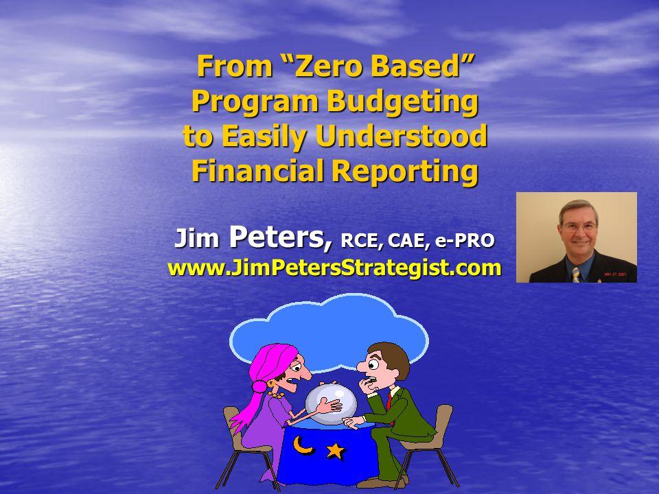 Why Program Budgeting.