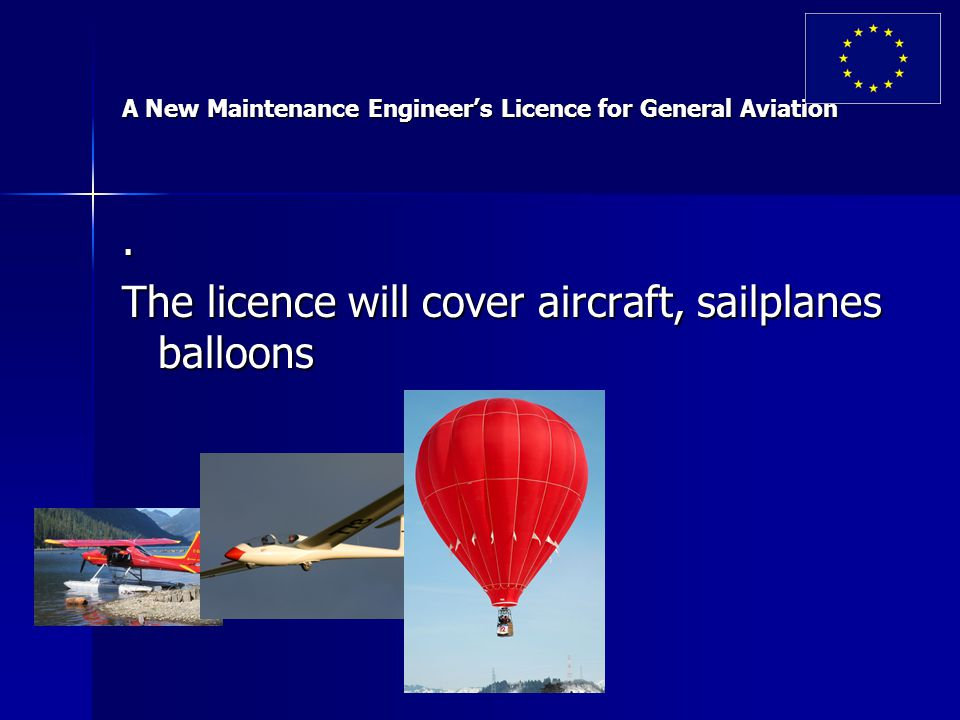 A New Maintenance Engineer's Licence for General Aviation.