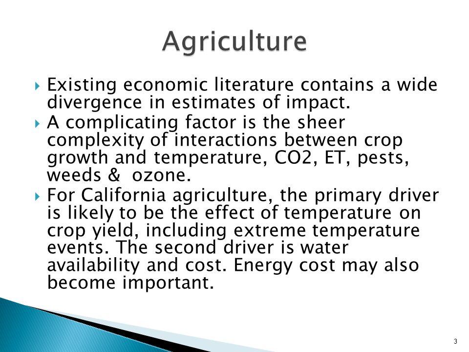 4 Climate Scenario20502085 A23.0>3.0 B11.5>1.5 Scenario A2 estimates from Howitt et al.