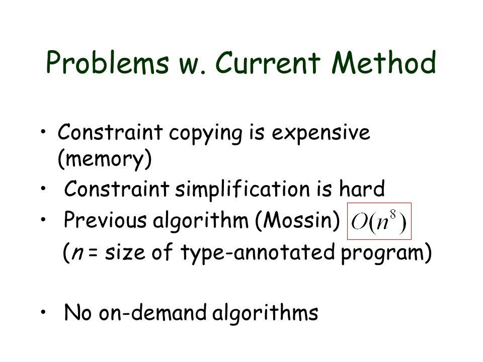 4.Eliminate constraint copies .