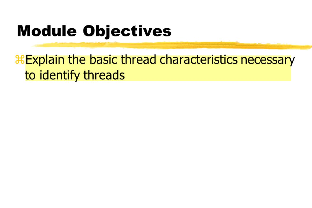 Identifying Threads Steps for Identifying Thread Forms 3b. Determine Size zCompare with Profile