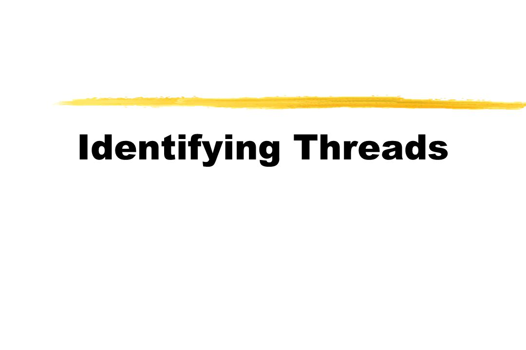 Identifying Threads
