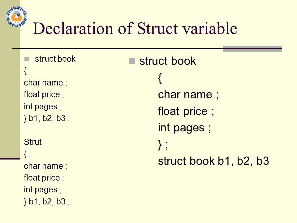 Input function int input(struct book *b ) int I, n; printf( \n\t\t Enter No of books ); scanf( %d ,&n); for(i=0;i<n;i++) { printf( |n\t Sr.