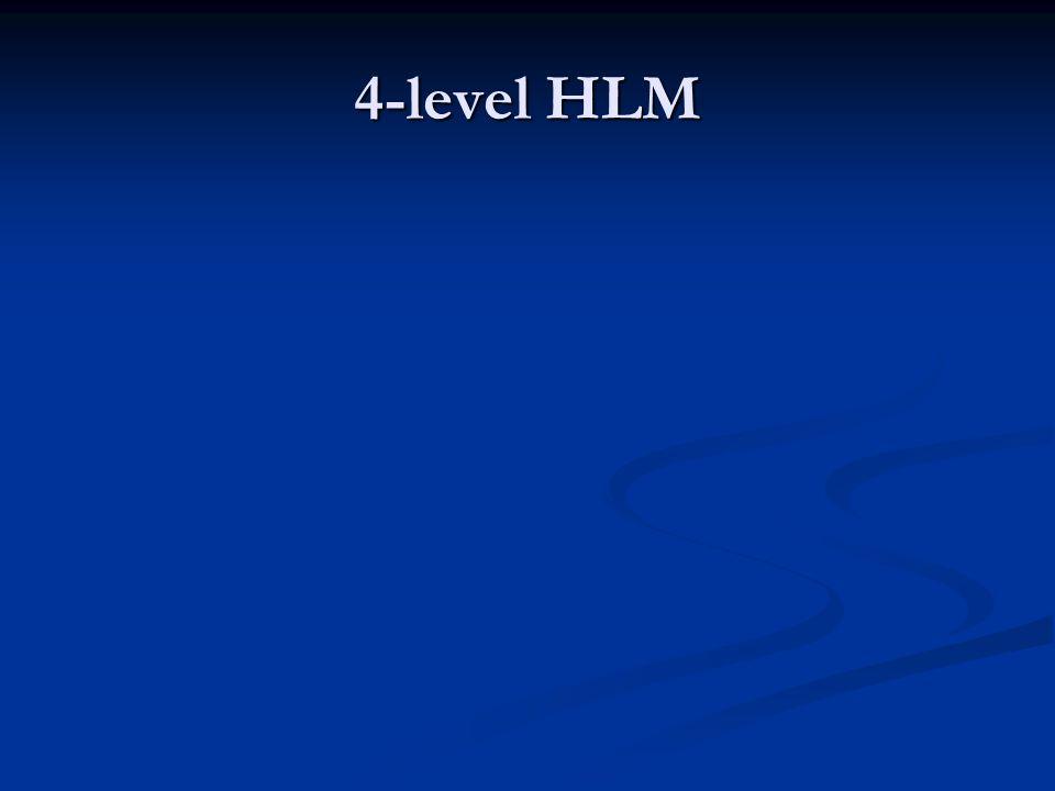 4-level HLM